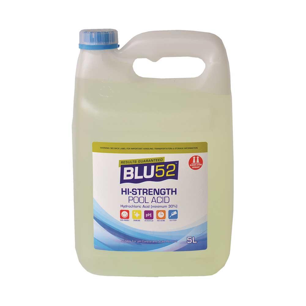 Blu52 hi strength pool acid blu52 for Hydrochloric acid used in swimming pools